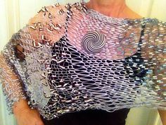 Knit Kit for Sabriel poncho. by yarnz2GO on Etsy