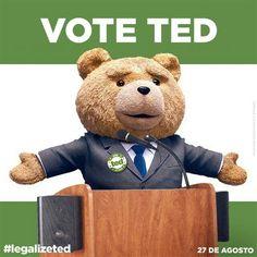 Você votaria nesse candidato?  Ele está quase chegando aqui na Cineart!! #TED2 #SemanaQueVem by cineart_oficial