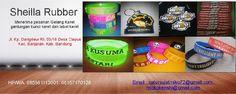 Jual bikin dan produksi gelang karet custom distro harga murah|gantungan kunci karet