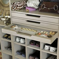 Sarah Storage Tower - Shoes, Jewelry & Shelves