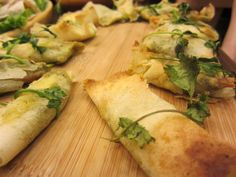 Goat Cheese and Pesto Rolls