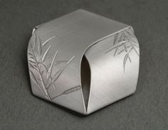 Winnie Chin - Seed packet brooch | Sterling silver