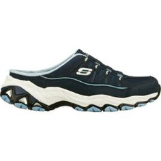Shop for Women's Skechers Encore Favorite Things Navy/Blue. Get free delivery On EVERYTHING* Overstock - Your Online Shoes Outlet Store! Shoe Deals, Comfortable Sneakers, Sporty Style, Smooth Leather, Skechers, Amazing Women, Clogs, Favorite Things, Navy Blue