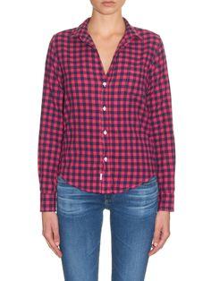 Barry checked-cotton shirt | Frank & Eileen | MATCHESFASHION.COM UK