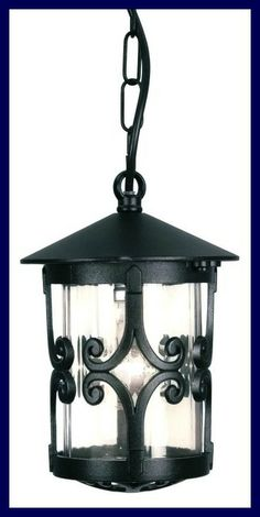 We love this chain Lantern, perfect for lighting your pool area! £67.50. For more information please visit : http://www.outdoor-lighting-centre.co.uk/porch-chain-lantern-p-535.html