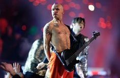 Flea Red Hot Chili Peppers Super Bowl