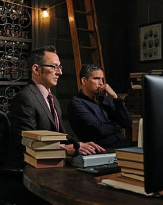 Person of Interest - this show has grown on me... mainly b/c I love these 2 actors!