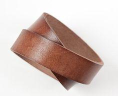 leather bracelet.