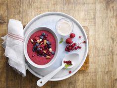 Ce mélange divin d'Alpro Avoine et de fruits délicieux ravira vos papilles au petit déjeuner!