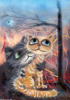 коты картины - Поиск в Google