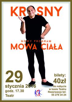 """KROSNY """"Mowa ciała"""", 29.1.2016 r."""