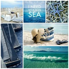 Moodboard - I need the sea !