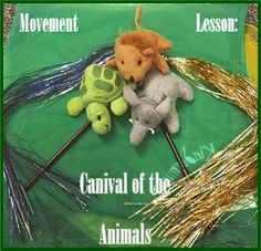 Movement ideas for Carnival of the Animals