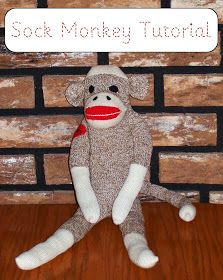 Zip It Zippers: Meg's Classic Sock Monkey Tutorial