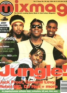 Mixmag (Issue 38) July 1994 - Jungle