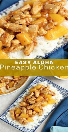 Easy Aloha Pineapple Chicken Recipe | Grace Family Recipes #chicken #chickenfoodrecipes