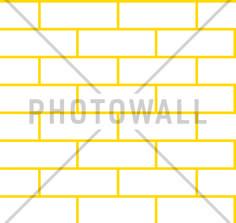 Tegel - White Yellow - Tapetit / tapetti - Photowall