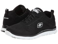 SKECHERS Obvious Choice Black White - Zappos.com Free Shipping BOTH Ways