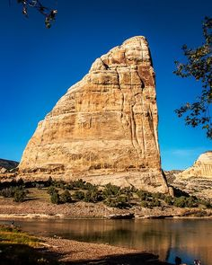 Steamboat Rock in Dinosaur National Monument, which straddles Colorado and Utah. By Denis LeBlanc (@denis.p.leblanc) on Instagram.