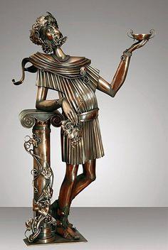 ДИОНИС (468x700, 72Kb) Алиса Дидковская-Петросюк — художник-скульптор, copper