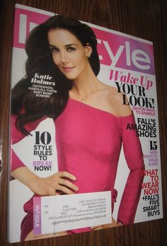 InStyle magazine August 2011 Katie Holmes NEW