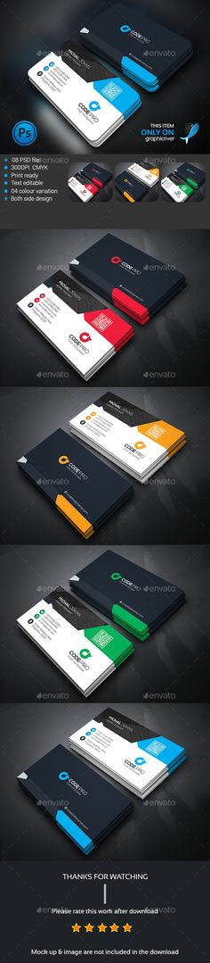 Corporate Business Card - Download…