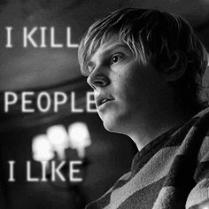 Remember that, before you get too-too cozy...  #TateLangon  #AHS