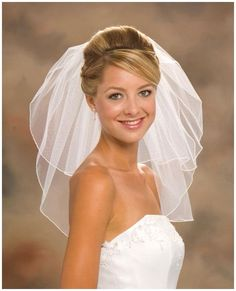 Curly Wedding Hairstyles with Veil | Short Wedding Hairstyles : Short Wedding Hairstyles Veil