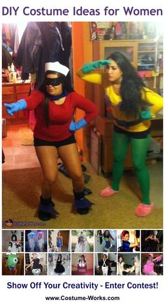 Homemade Costumes for Women - a huge gallery of DIY Halloween costumes!