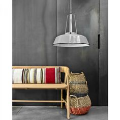 Workshop Lamp - Grey #lighting #lamp #industrial