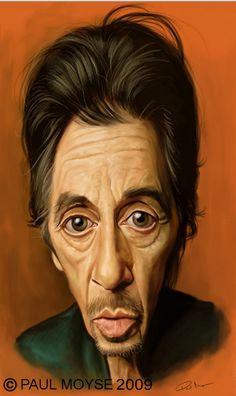 Al Pacino Artist: Paul Moyse website: http://artofmoyse.blogspot.com