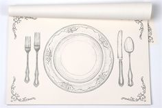 Hester & Cook Design Group Inc. | 1707 Broadway Nashville, TN 37203: Perfect Setting Paper Placemats