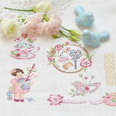 Les Brodeuses Parisiennes - La grande histoire de l'ouvrage Cross Stitching, Cross Stitch Embroidery, Cross Stitch Patterns, Cross Stitch Finishing, Cross Stitch Pictures, Cute Cross Stitch, Sewing Notions, Couture, Needlepoint