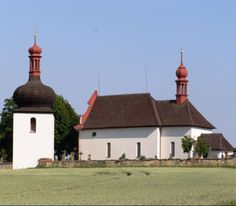 The church of the Holy Spirit in Dobruška (East Bohemia), Czechia Sacred Architecture, Pilgrimage, Holy Spirit, Gazebo, Outdoor Structures, Places, Bohemia, Holy Ghost, Religious Architecture