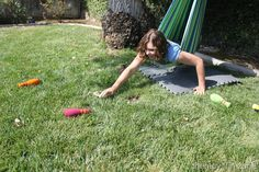 Hammock Swing: Provides the individual with vestibular input that allows them to adjust their position accordingly.