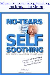 No-Tears Self Soothing: Effective Baby Sleep Techniques for Settling and Sleeping Through the Night by Heidi Holvoet PhD (Silver: Adult Books: Series) Baby Sleep Routine, Help Baby Sleep, Self Soothing Baby, Sleeping Through The Night, Baby Development, Baby Cribs, Future Baby, Little Babies, Baby Care