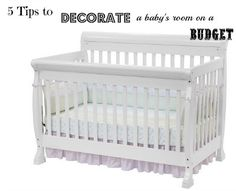Are you having a baby?  All the expenses can add up, so here are some ways on how to decorate a baby room on a budget