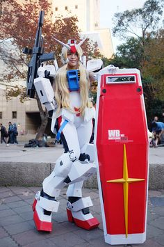 Gundam Girl Cosplay