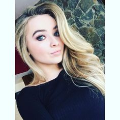 Hey Sabrina, she's my favorite celebrity ever! I even met her XX! Everyone follow me for Anime and Celeb stuff.  -Foofa5!