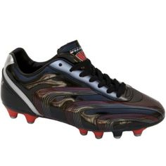 SALE - Mens Vizari Palermo Soccer Cleats Black Leather - Was $34.99 - SAVE $5.00. BUY Now - ONLY $29.99