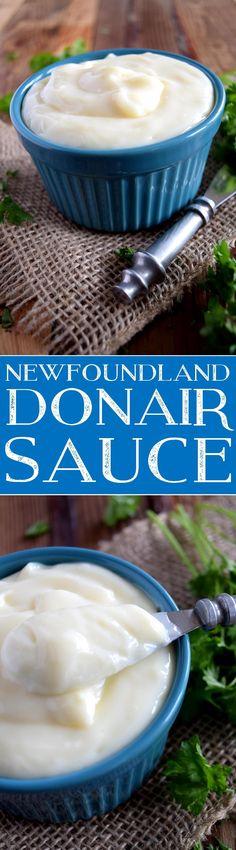 Newfoundland Donair Sauce