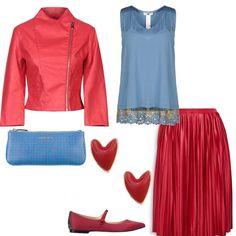 amo i CONTRASTI  outfit donna Trendy per serata fuori  ecf2472bedf