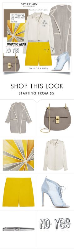 """""""334-99"""" by reginabarnes ❤ liked on Polyvore featuring Chloé, Intelligent Design, Chloe Gosselin and Just Cavalli"""