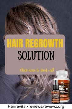 Hair regrowth solution