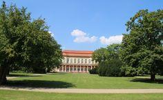 #Selbermachen: Orangerie in Merseburg auf einem #Wandkalender als #Einrichtung