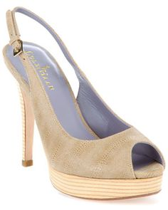 Cole Haan 'Air Mariela' Leather Slingback Pump