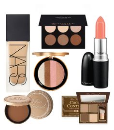 """""""Vill!"""" by geemmmiiis ❤ liked on Polyvore featuring косметика, NARS Cosmetics, Anastasia Beverly Hills, Too Faced Cosmetics и MAC Cosmetics"""