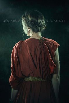 Listening The Muses by David et Myrtille dpcom. (david on Ancient Rome, Ancient Greece, Story Inspiration, Character Inspiration, Story Ideas, Empire Romain, Dreamy Photography, Make Your Own Clothes, Face Characters