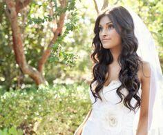 Penteados de noiva com o cabelo solto