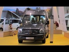 The 2014 Mercedes Sprinter was the basis of many of the RVs shown at the Dusseldorf Caravan Salon 2013, including Mercedes own cutaway Sprinter camper example.